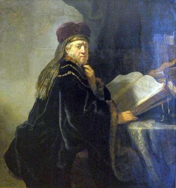 オフィス(Rabbi)の科学者   レンブラントハーメンスヴァンライン