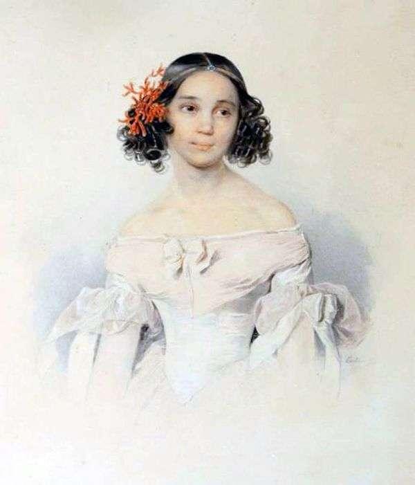 S. F. トルストイの肖像   Peter Sokolov