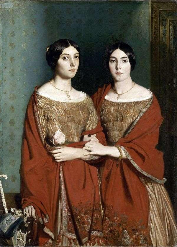 二人の姉妹   セオドア・シャッセリオ