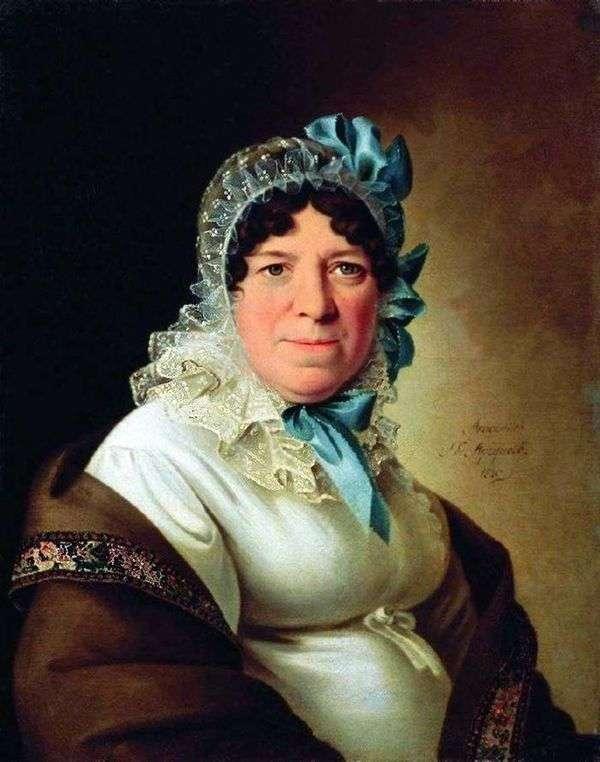 Yu。P. Sokolovaの肖像   Peter Sokolov