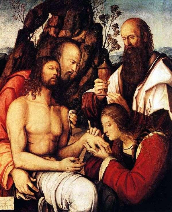 キリストの嘆き   Girolamo Marchesi da Cotignola