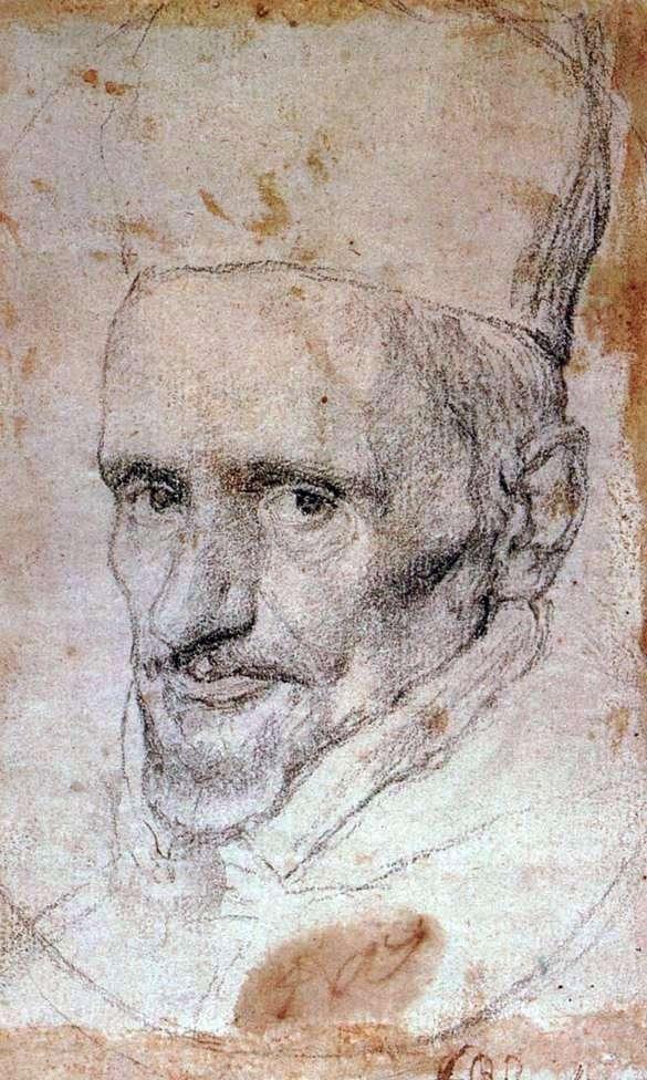 枢機卿のボルジアの肖像   ディエゴベラスケス