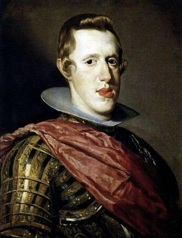 スペイン王フィリップ4世の鎧   ディエゴベラスケスの肖像