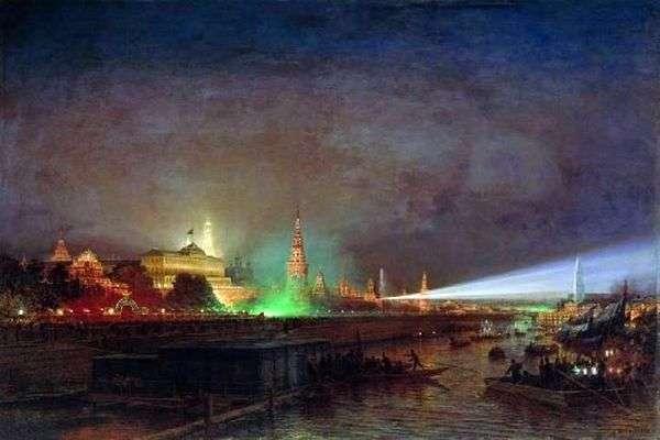 クレムリンの照明   Alexei Bogolyubov