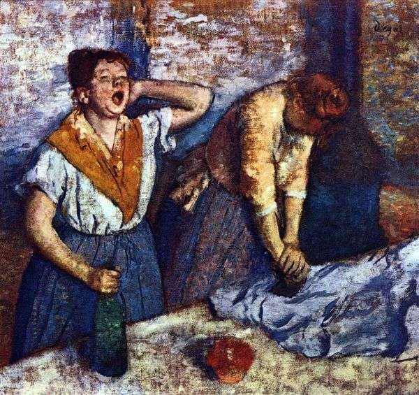 ランドリードレス   Edgar Degas