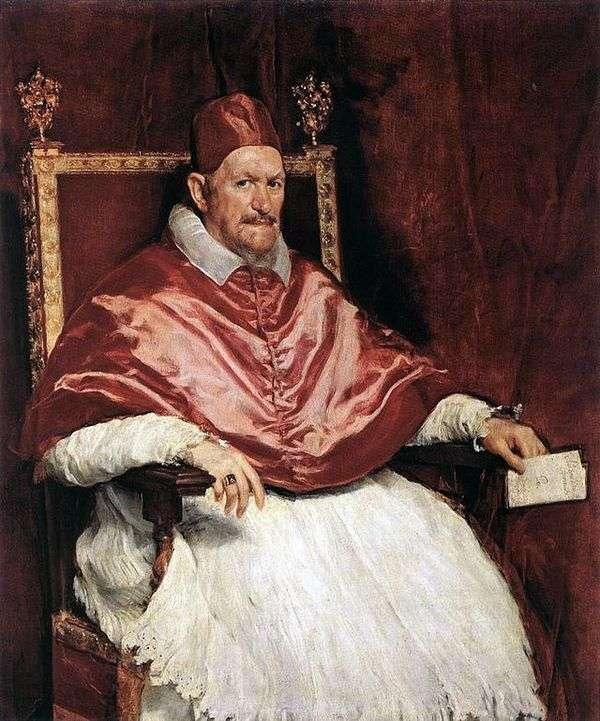 教皇イノセントXの肖像   ディエゴベラスケス
