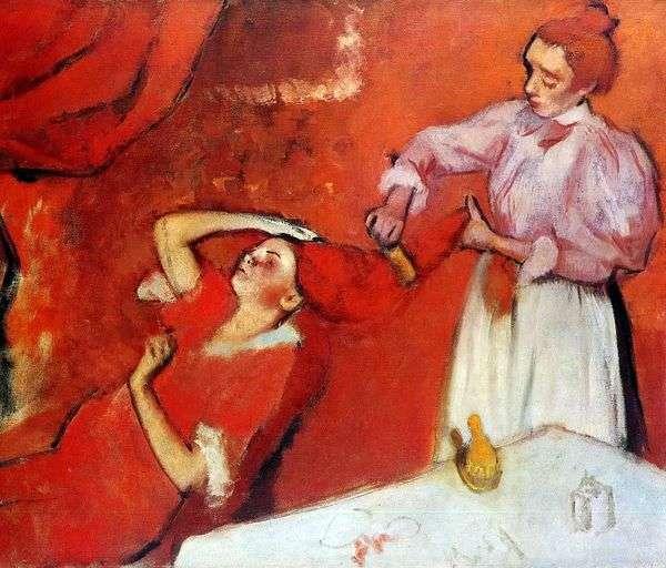 ヘアコーム   Edgar Degas