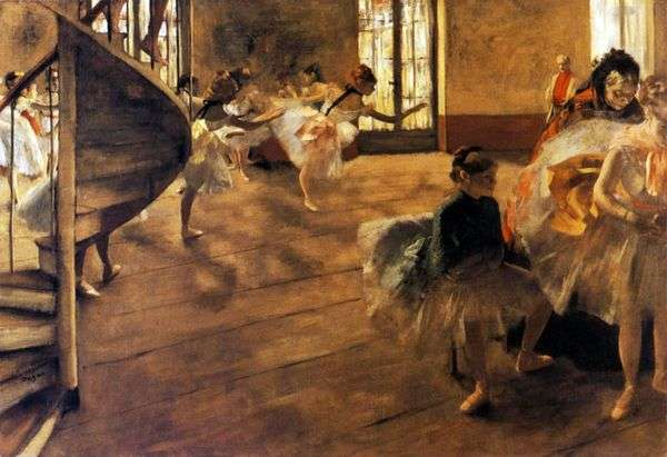 リハーサル   Edgar Degas