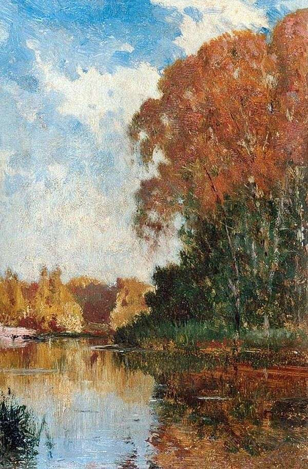 Petrovsko Razumovskyの池   アレクセイ・ボゴリウボフ
