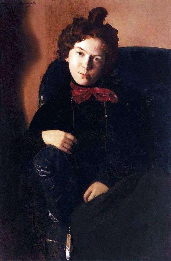 A. P. Ostroumova   コンスタンティンソモフの肖像