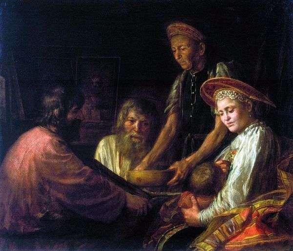 農民ランチ   ミハイルシバノフ