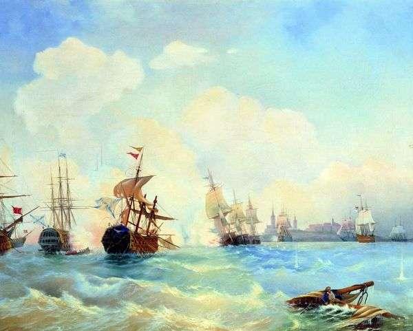 1790年5月2日のレベルの戦い   Alexei Bogolyubov
