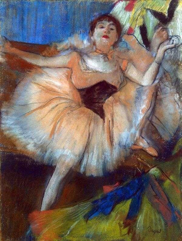 着席ダンサー   Edgar Degas