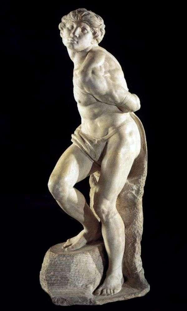 バウンドスレーブ(彫刻)   ミケランジェロブオナローティ