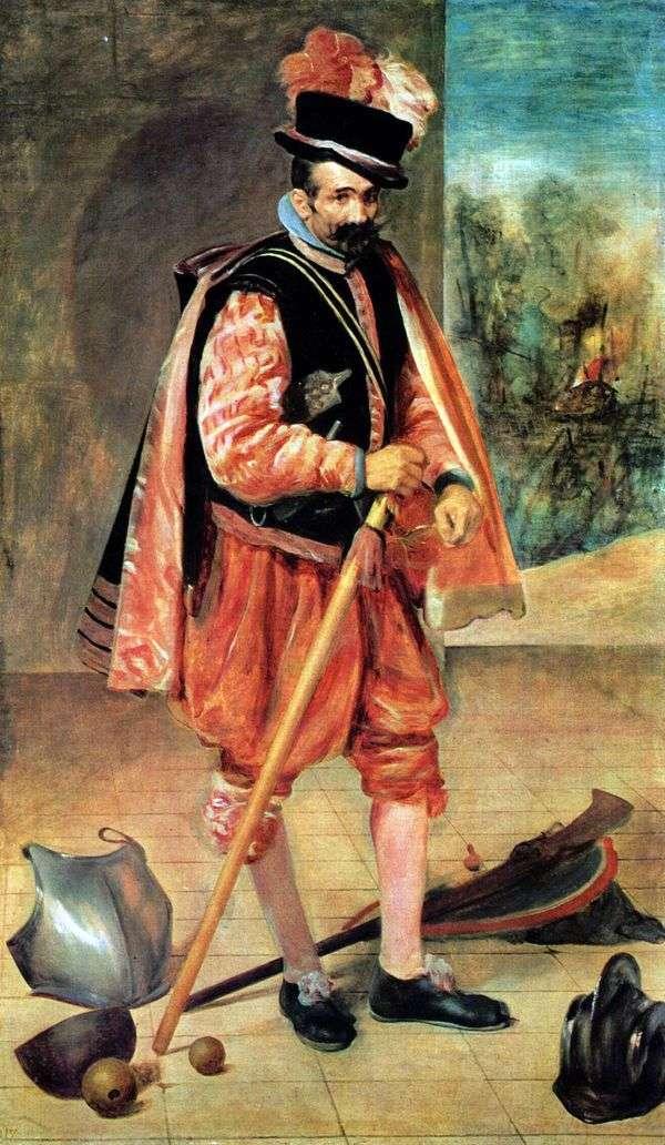 裁判所の道化師オーストリアのファン   ディエゴ・ベラスケス
