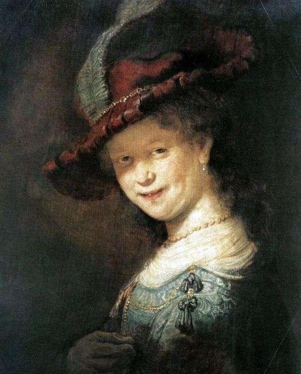 Saskia vanEilebürch   レンブラントハーメンスヴァンラインの肖像