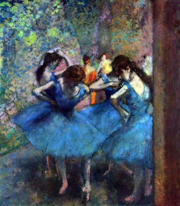 リハーサルのダンサー   Edgar Degas