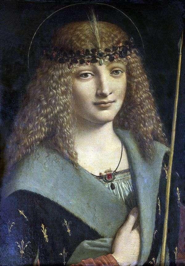 聖セバスチャン   アントニオBoltraffioのイメージで若い男の肖像
