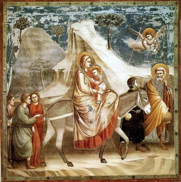 エジプト行き   Giotto di Bondone