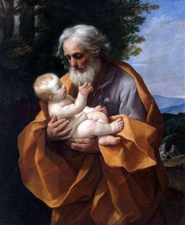 ジョセフと赤ん坊イエス   グイド・レニ