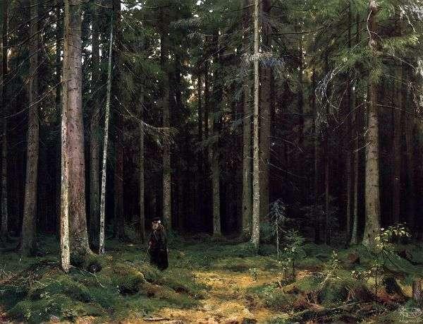 Mordvinova伯爵の森の中 Peterhof   イワン・シシキン