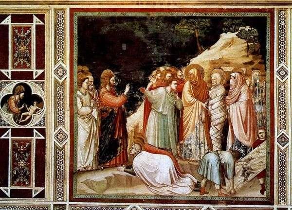 ラザロの復活   Giotto di Bondone