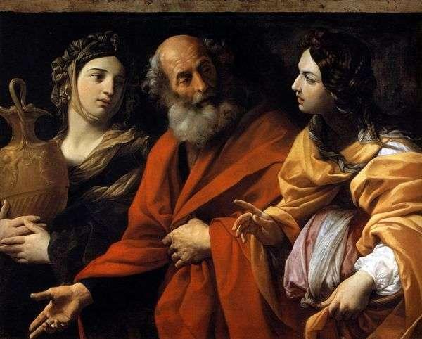 ロトと彼の娘たち   グイドレニ