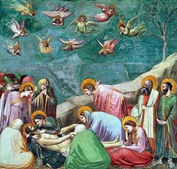 キリストの嘆き   Giotto di Bondone