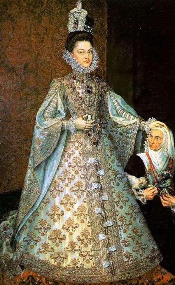 Infanta IsabelとMagdalena Ruiz   アロンソサンチェスコエーリョ