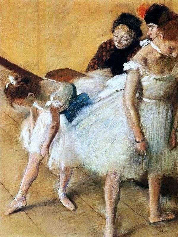 ダンス試験   Edgar Degas