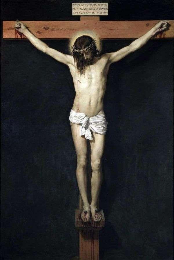 十字架のキリスト   ディエゴ・ベラスケス