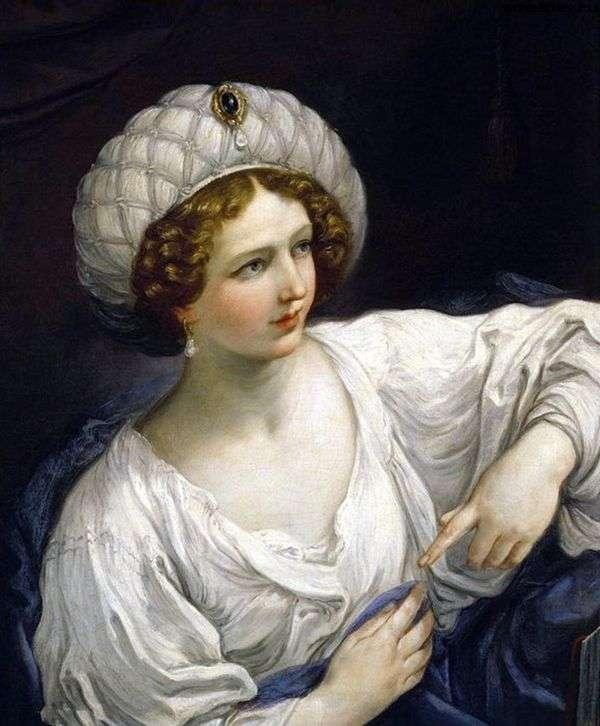 シビルを装った女性の肖像   Guido Renee