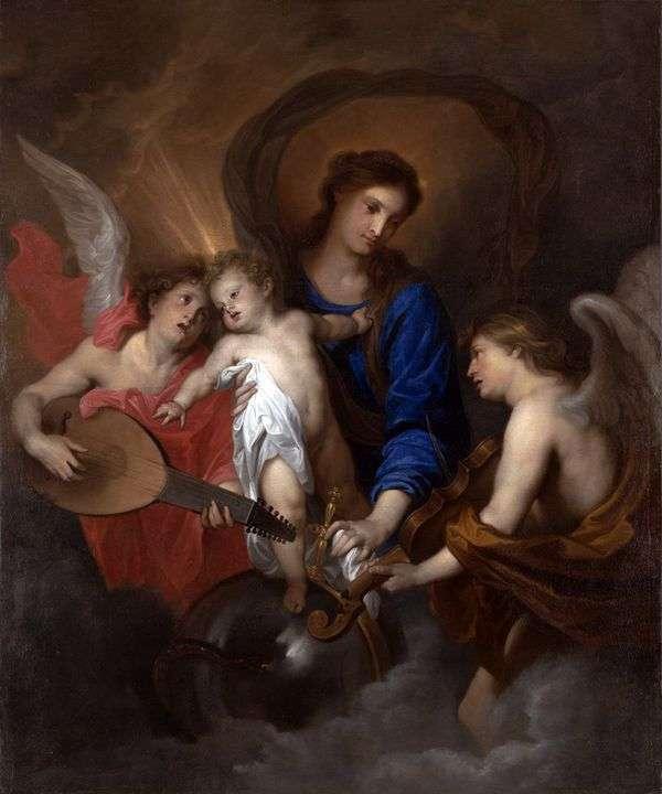 マドンナと子供と天使たち   Anthony Van Dyck