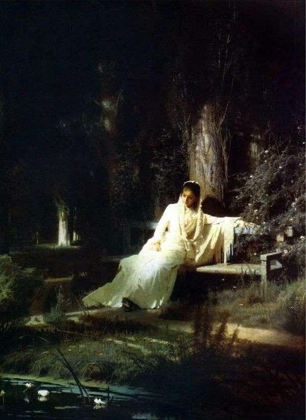 月光の夜   Ivan Kramskoy