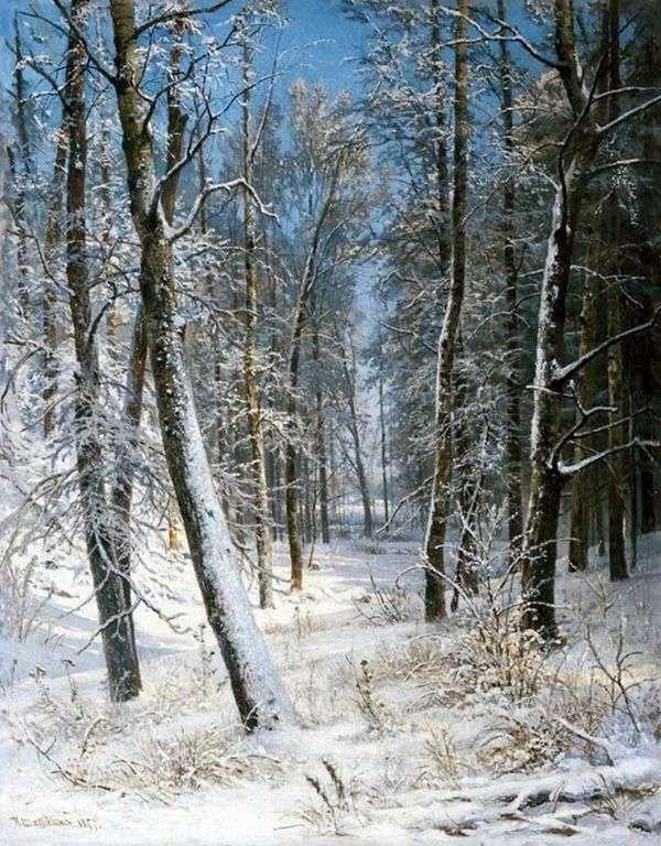 冬の森(フロスト)   Ivan Shishkin