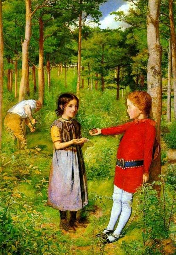 きこりの娘   John Everett Millais