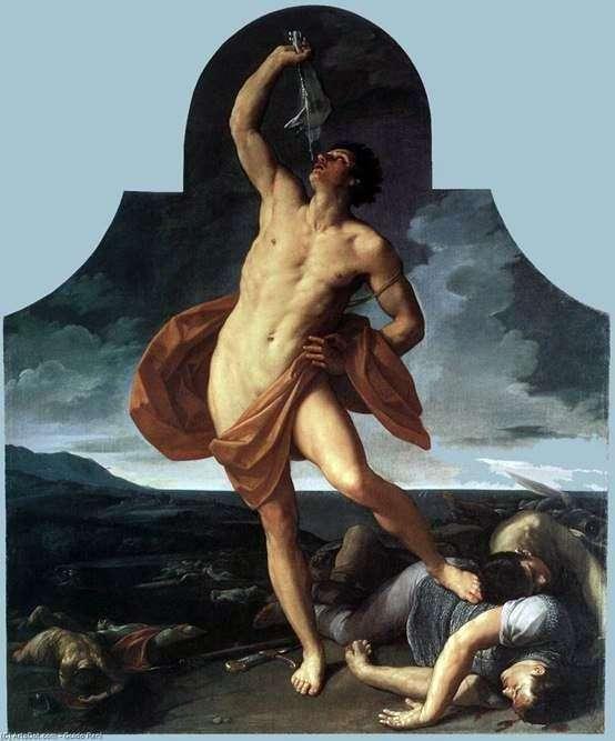 サムソンの勝者   Guido Reni
