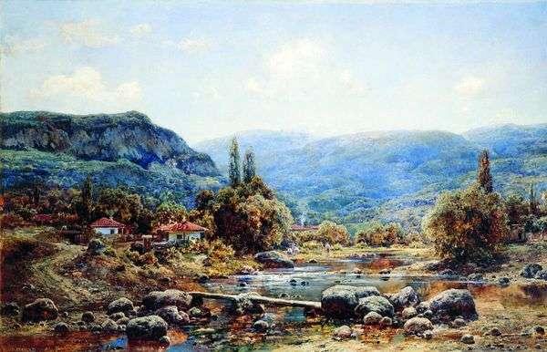 クリミア半島の村ココズ   Ivan Avgustovich Velts