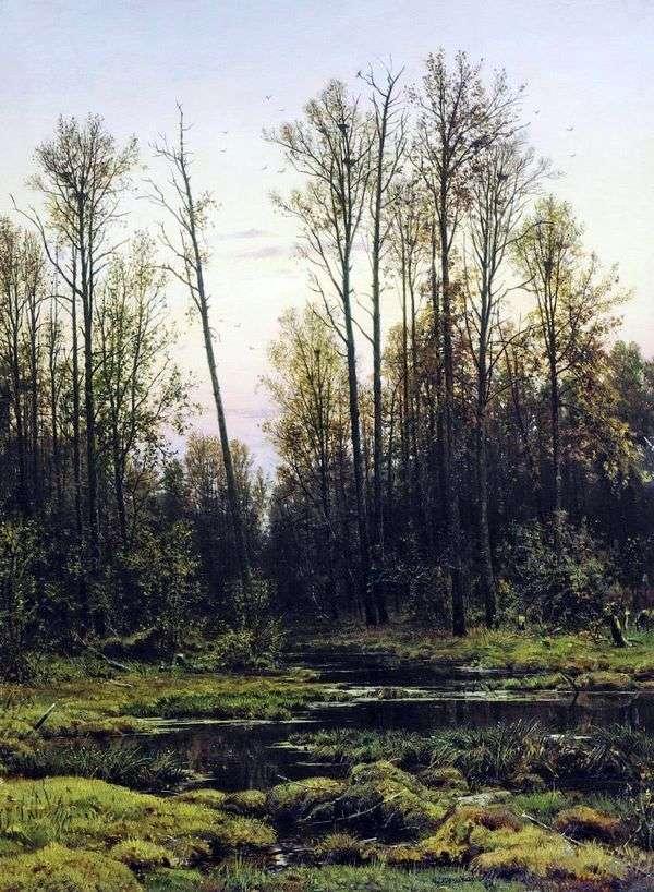 春の森   Ivan Shishkin