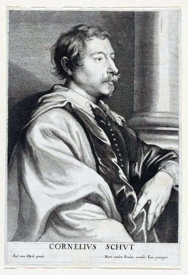Cornelis Shata   Anthony Van Dyckの肖像