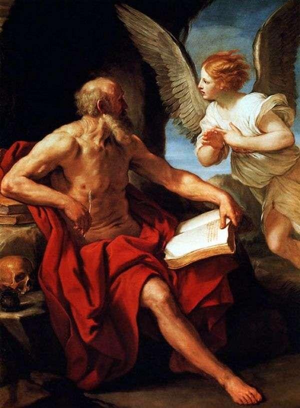 聖ジェロームと天使   グイドレニ