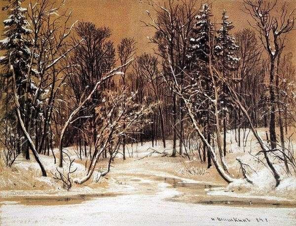 冬の森   Ivan Shishkin