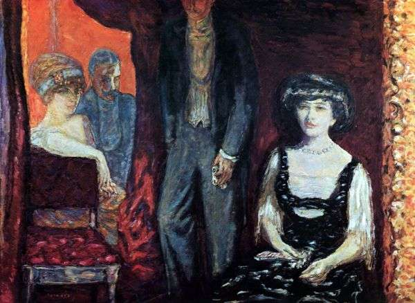 ロッジ   Pierre Bonnard