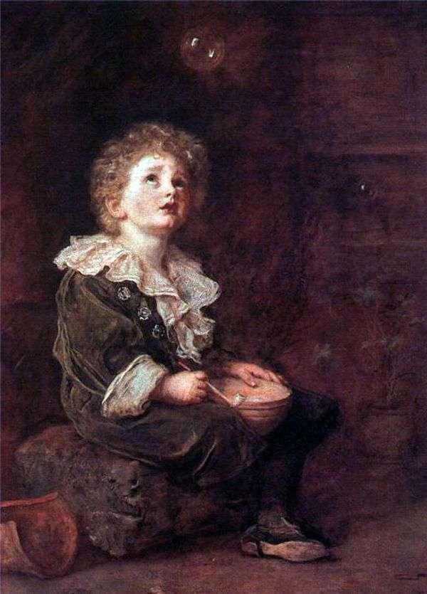 石鹸の泡   John Everett Millais