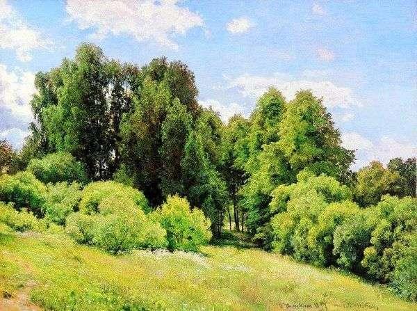 Forest Glade(Polyanka)   イワン・シシキン