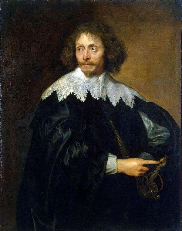 トーマス・シャロナー卿の肖像   アンソニー・ヴァン・ダイク