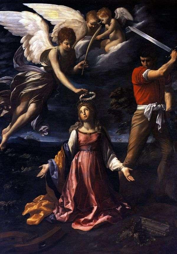 アレクサンドリアのキャサリンの死   グイドレニ