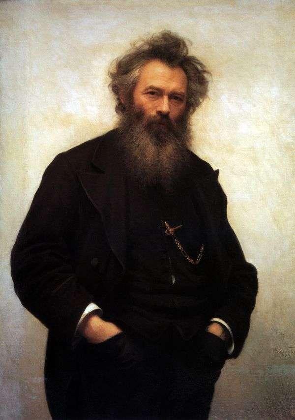 I. I. Shishkin   Ivan Kramskoyの肖像