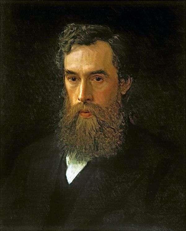 パベルミハイロヴィチトレチャコフ   イワンKramskoyの肖像