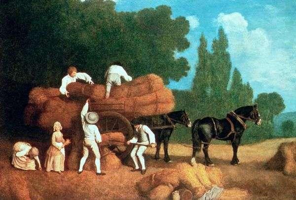 収穫カート   George Stubbs